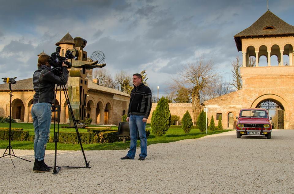 Filmare Digi 24 cu Andrei Barbu